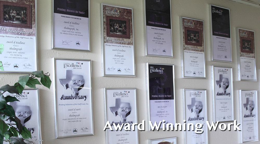 Award Winning Graphics