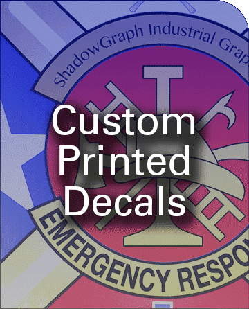 Custom Large or Small Decals
